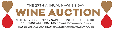 27th Annual Hawke's Bay Wine Auction | Hansen Bate Corporate Sponsor